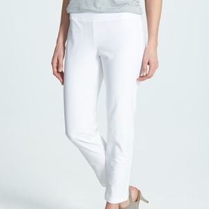 Eileen fisher stretch slim cropped ankle pant